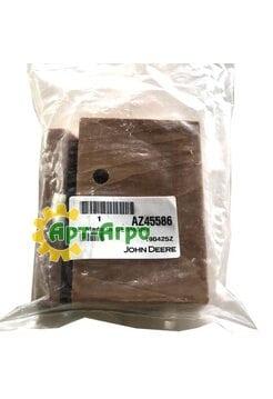 AZ45586 Деревянный подшипник для вала соломотряса 38мм комбайна John Deere (Z57754)