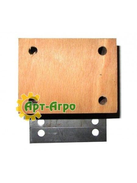 Деревянный подшипник соломотряса комбайна Massey Ferguson - 100х75х55мм