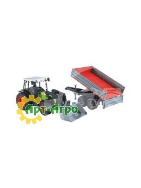 Игрушка трактор Claas NECTIS 267F c прицепом 1992-02112