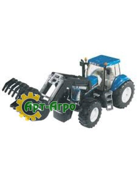 Игрушка трактор с ковшом New Holland T8040 1992-03021