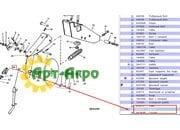 B35913 Чистик внутренний диска сошника внесения удобрений John Deere (Greenly)