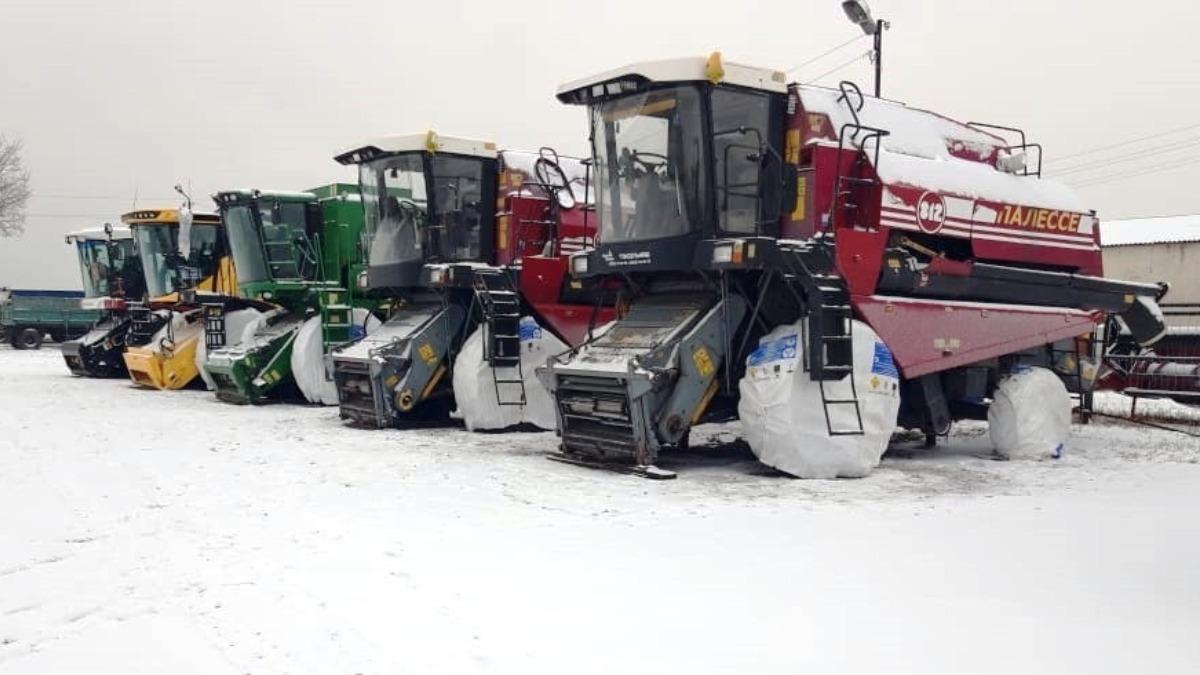 правила зимнего хранения сельхозтехники