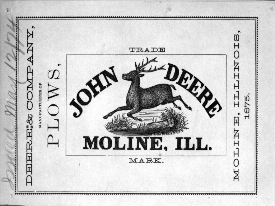 логотип компании Джон Дир
